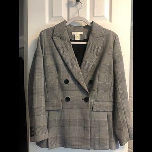 Checkered H&M Blazer